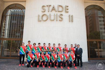 South Africa Monaco Rugby Exchange - U16 Team departure - 21.07.2015