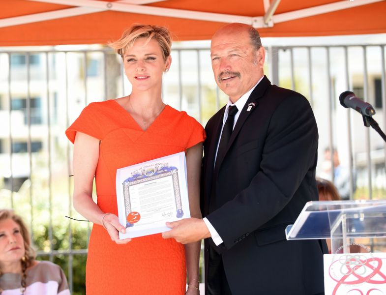 H.S.H. Princess Charlene of Monaco inaugurated the American branch of Her Foundation - 10.05.2016