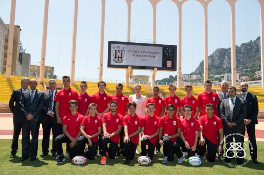 « South Africa – Monaco Rugby Exchange » Stade Louis II Monaco – 6 Juillet 2016