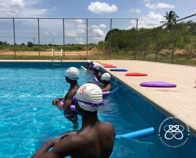 Swimming pool opening in Ghana – 29.11.2016