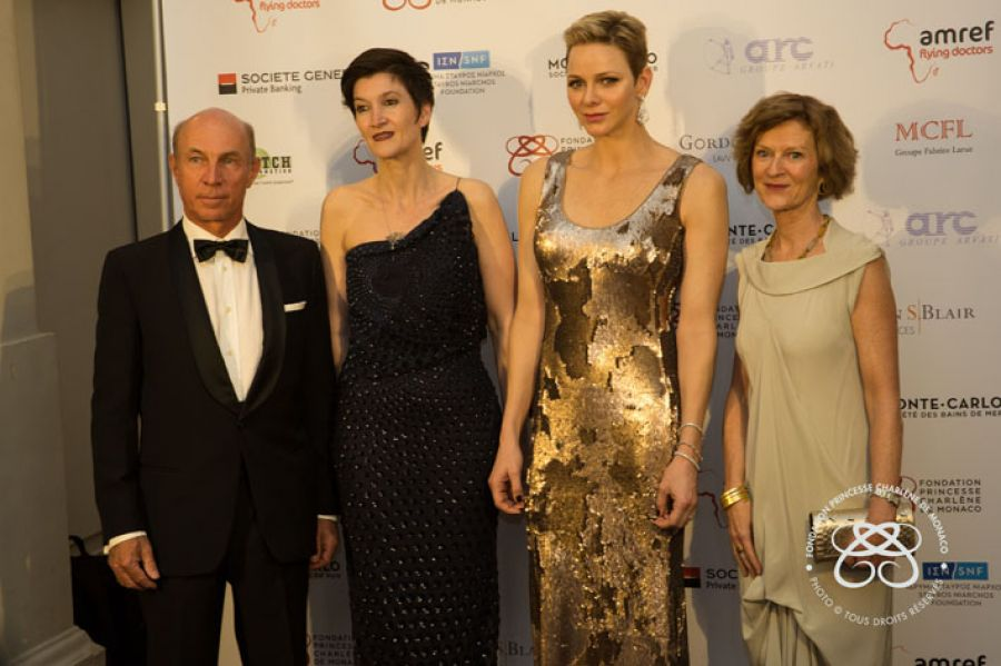 AMREF Flying Doctors' Gala in partnership with the Princess Charlene of Monaco Foundation