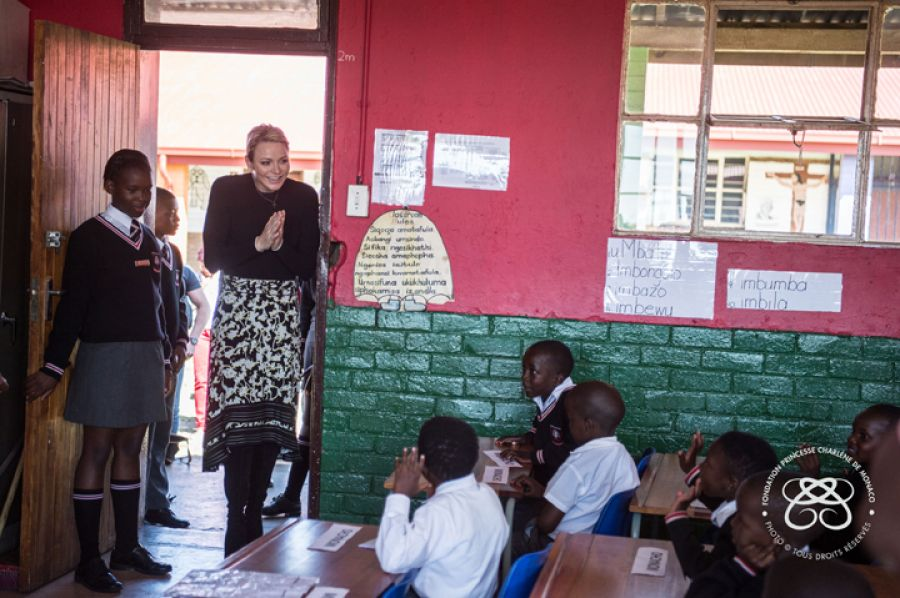HSH Princess Charlene's trip to South Africa