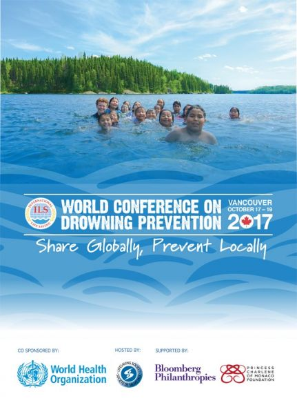 World Conference on Drowning Prevention - Vancouver, Canada – 17-19.10.2017