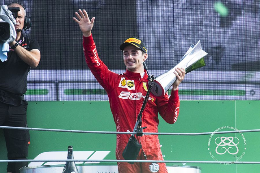 Congratulations to Charles Leclerc