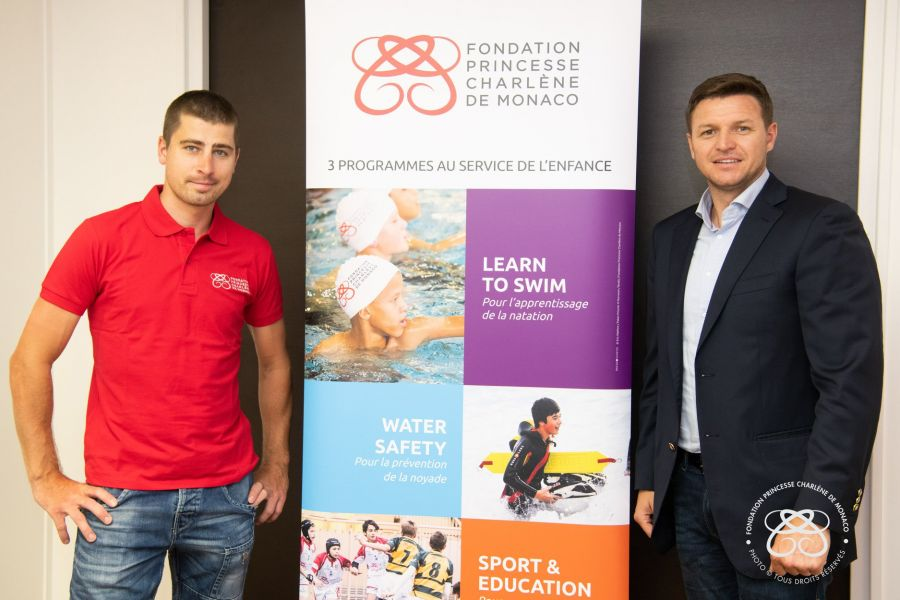 Cyclist Peter Sagan appointed Ambassador of the Princess Charlene of Monaco Foundation