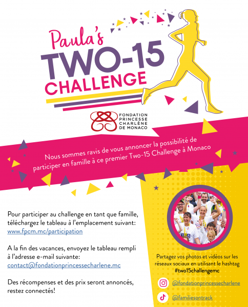 Lancement du 'Two-15 Challenge MC'