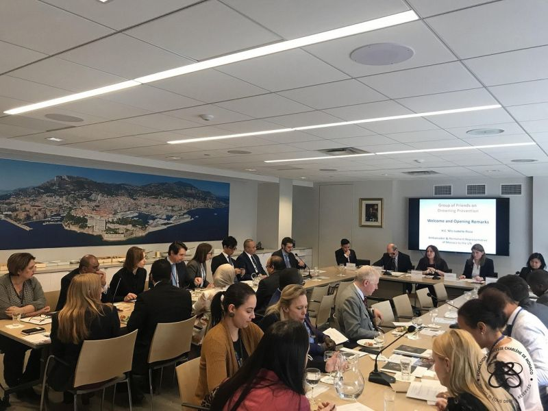 Monaco convenes the Group of Friends on drowning prevention in New York