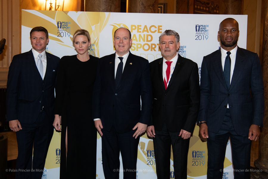 Partnership between the Princess Charlene of Monaco Foundation and Peace and Sport