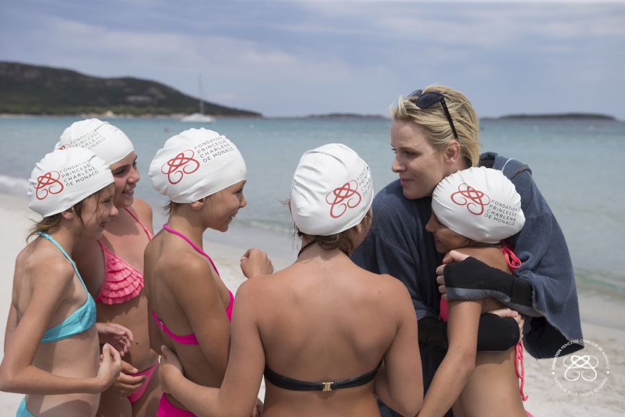 730,000 people benefited from the Princess Charlene of Monaco Foundation programmes since its creation