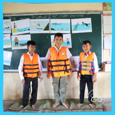 Child drowning prevention programme in Cambodia